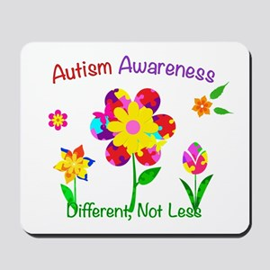Autism Awareness Flowers Mousepad