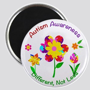 Autism Awareness Flowers Magnet
