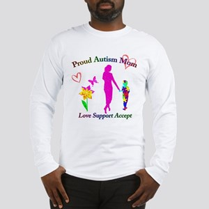 Proud Autism Mom Long Sleeve T-Shirt