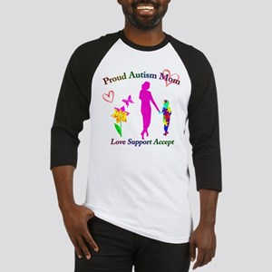Proud Autism Mom Baseball Jersey