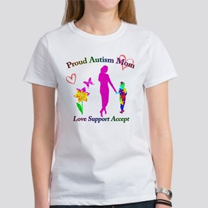 Proud Autism Mom Women's T-Shirt