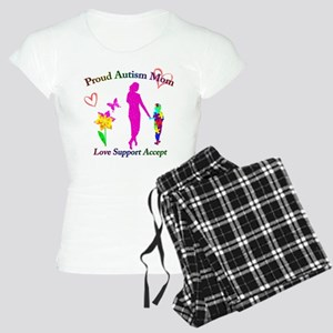 Proud Autism Mom Women's Light Pajamas