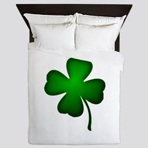 Four Leaf Clover Queen Duvet