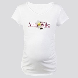 Army Wife Maternity T-Shirt