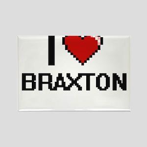 I Love Braxton Magnets