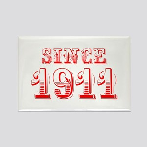 SINCE 1911-Bod red 300 Magnets