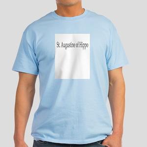St. Augustine of Hippo Light T-Shirt