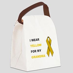 MY GRANDMA Canvas Lunch Bag