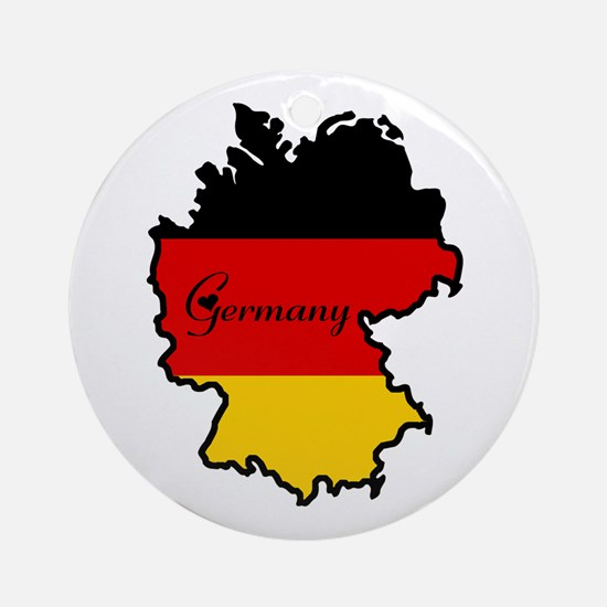 Cool Germany Ornament (Round)