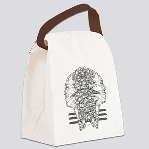 Surreal DUALITY Canvas Lunch Bag