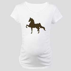 American Saddlebred - Leopard Maternity T-Shirt