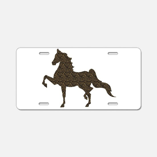 American Saddlebred - Aluminum License Plate