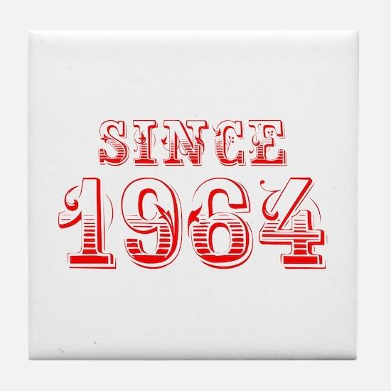SINCE 1964-Bod red 300 Tile Coaster