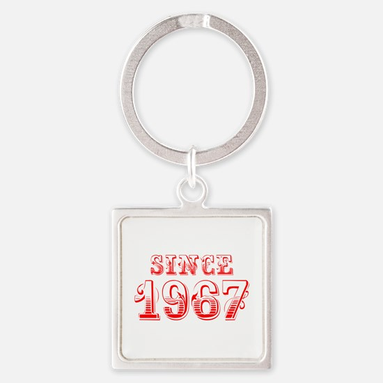 SINCE 1967-Bod red 300 Keychains