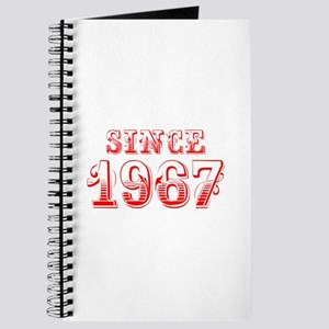 SINCE 1967-Bod red 300 Journal