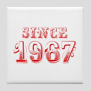 SINCE 1967-Bod red 300 Tile Coaster