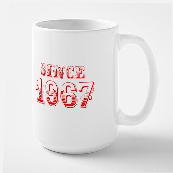 SINCE 1967-Bod red 300 Mugs
