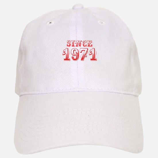 SINCE 1971-Bod red 300 Baseball Baseball Baseball Cap