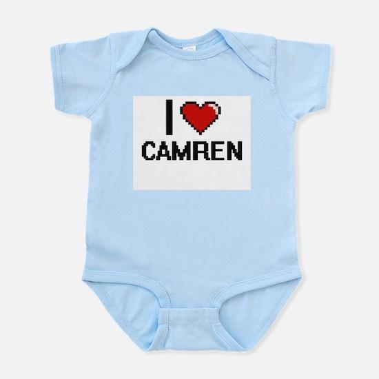 I Love Camren Body Suit