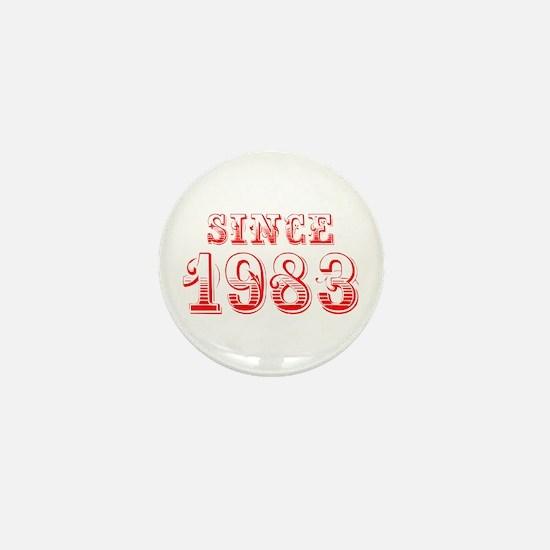 SINCE 1983-Bod red 300 Mini Button