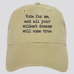 Vote For Me (blk) - Napoleon Cap