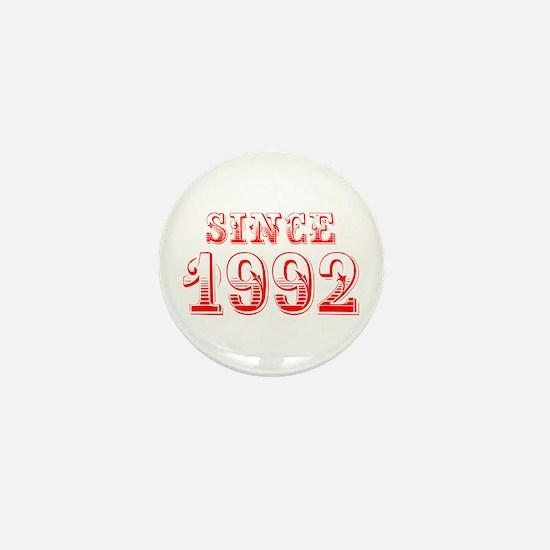 SINCE 1992-Bod red 300 Mini Button