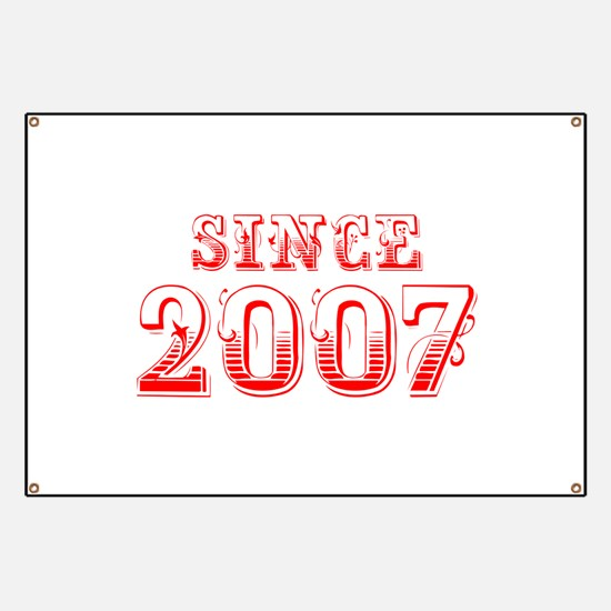 SINCE 2007-Bod red 300 Banner