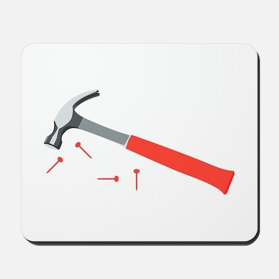 Hammer & Nails Mousepad