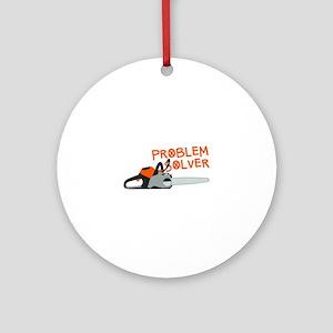 Problem Solver Ornament (Round)