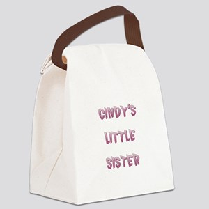 CINDY'S LITTLE SISTER Canvas Lunch Bag