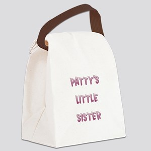 PATTY'S LITTLE SISTER Canvas Lunch Bag
