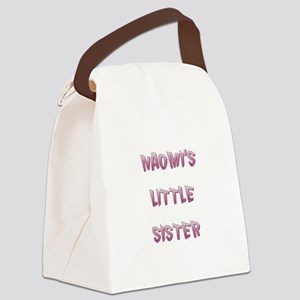 NAOMI'S LITTLE SISTER Canvas Lunch Bag