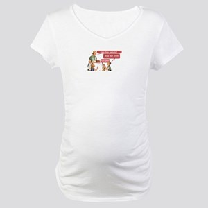 Cake Time Fun Maternity T-Shirt