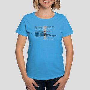 """How long, tell me..."" Women's Dark T-Shirt"