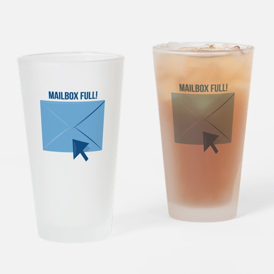 Mailbox Full Drinking Glass