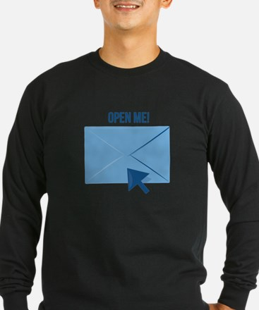 Open Me Long Sleeve T-Shirt