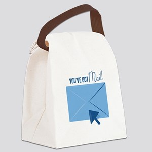 Youve Got Mail Canvas Lunch Bag