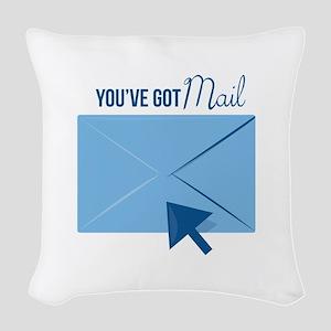 Youve Got Mail Woven Throw Pillow