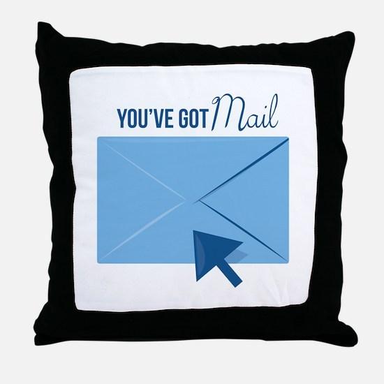 Youve Got Mail Throw Pillow