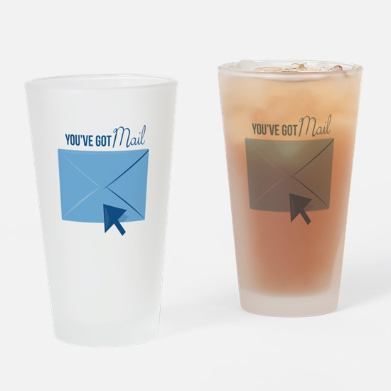 Youve Got Mail Drinking Glass