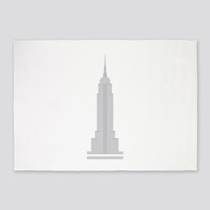 Empire State Building 5'x7'Area Rug