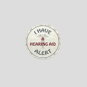 A HEARING AID Mini Button