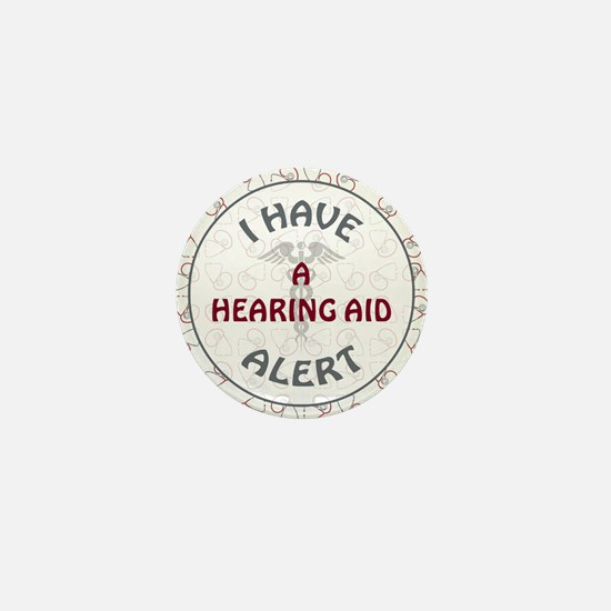 A HEARING AID Mini Button