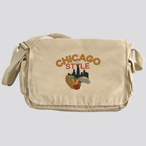 Chicago Style Messenger Bag