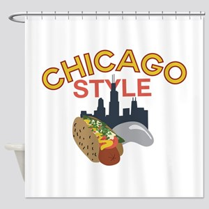 Chicago Style Shower Curtain