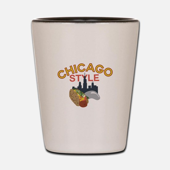 Chicago Style Shot Glass