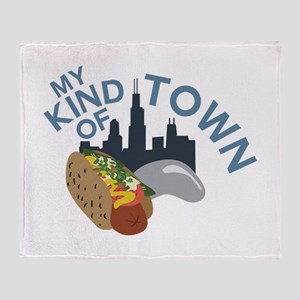 My Town Throw Blanket