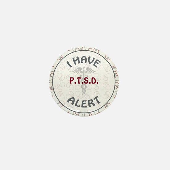 P.T.S.D. Mini Button