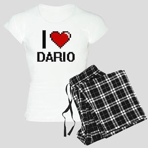 I Love Dario Women's Light Pajamas
