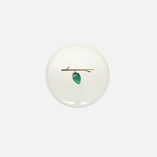 Butterfly Cocoon Mini Button
